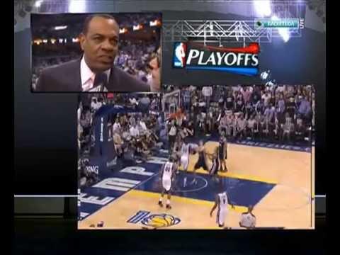 2011 San Antonio Spurs vs Memphis Grizzlies. Game 6. Part 4