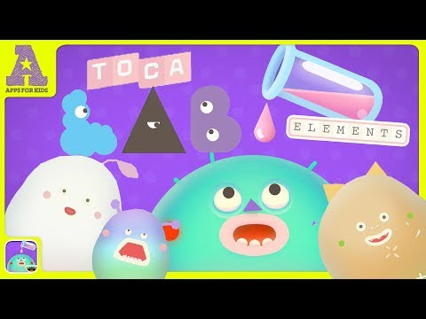 Toca Lab Elements At Appghost