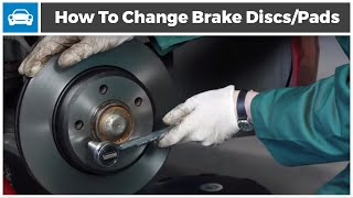 How to Change your Brake Discs and Brake Pads