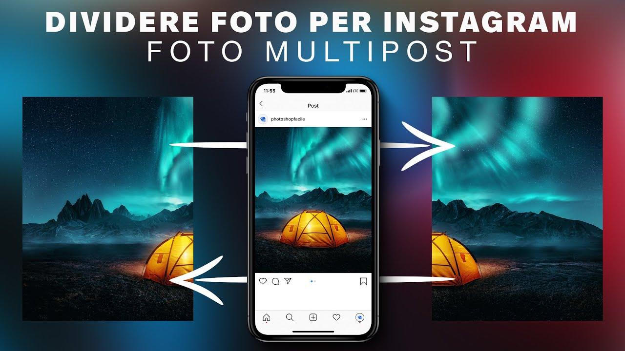 Come Dividere le tue Foto per Instagram in Photoshop! - Effetto Continuo