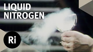 Properties of Liquid Nitrogen - Christmas Lectures with EM Rogers