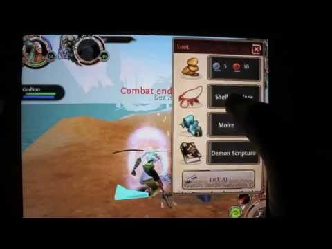 Order & Chaos Online for iPhone/iPod/iPad Episode 9 - Sell Fast on AH and Dailies in Great Desert