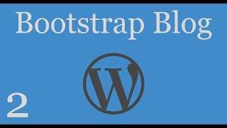 Bootstrap Blog - 2