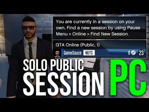 How To Make A Solo Public Session On PC   GTA Online   Task Manager Method