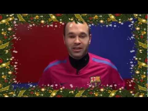 Felicitaciones De Navidad Del Fc Barcelona.Fc Barcelona Feliz Navidad Hd