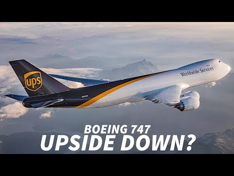 Can the 747 Fly UPSIDE DOWN?