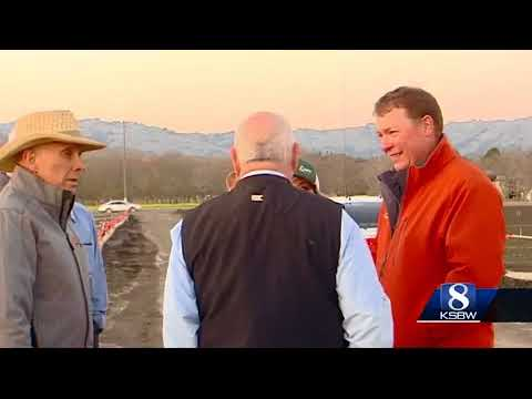 Secretary of Agriculture Sonny Perdue visits the Central Coast