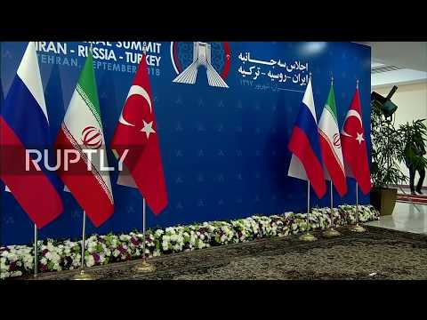 Live: Russia, Iran, Turkey trilateral talks in Tehran: protocol