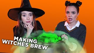 How to Make WITCHES BREW for Halloween - Merrell Twins Live
