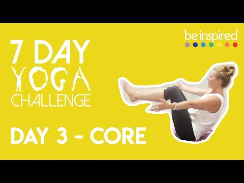 Day 3 - Core | 7 Day Yoga Challenge