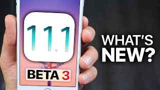 iOS 11.1 Beta 3 Released! What's New Review!