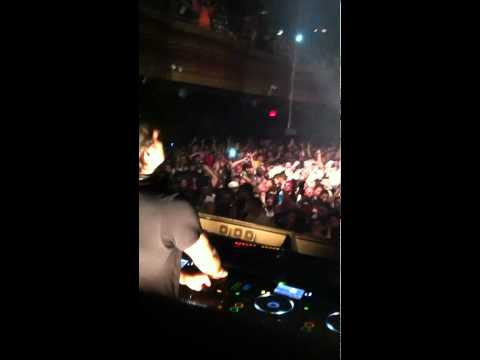 Sebastian ingrosso playing Alesso - 'Dynamite' at Webster Hall New York Feb 12 2011