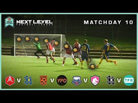 HASHTAG UNITED vs ARSENALFANTV FC! | NEXT LEVEL FOOTBALL LEAGUE SEASON 2