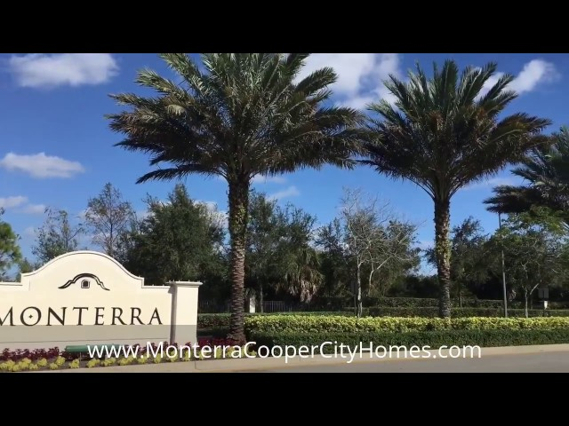 Video Tour of Monterra in Cooper City, FL