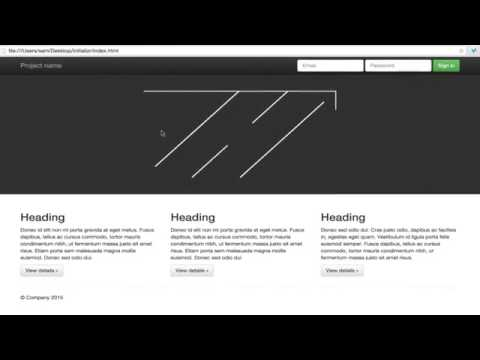 SVG Animation - Using HTML & CSS