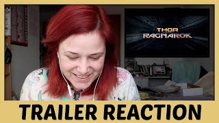 Thor 3 Ragnorok Trailer Reaction