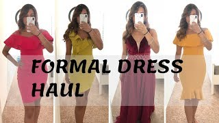 JJsHouse Dress Review & Guess Formal Dresses + Try on
