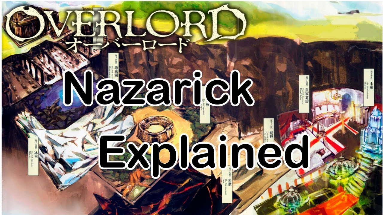 Overlord Anime World Map.The Great Tomb Of Nazarick Explained Overlord Youtube