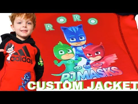 MOM DIY PJ MASK JACKET
