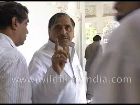 Mulayam Singh Yadav at home: Indian politician, government official who founded Samajwadi Party