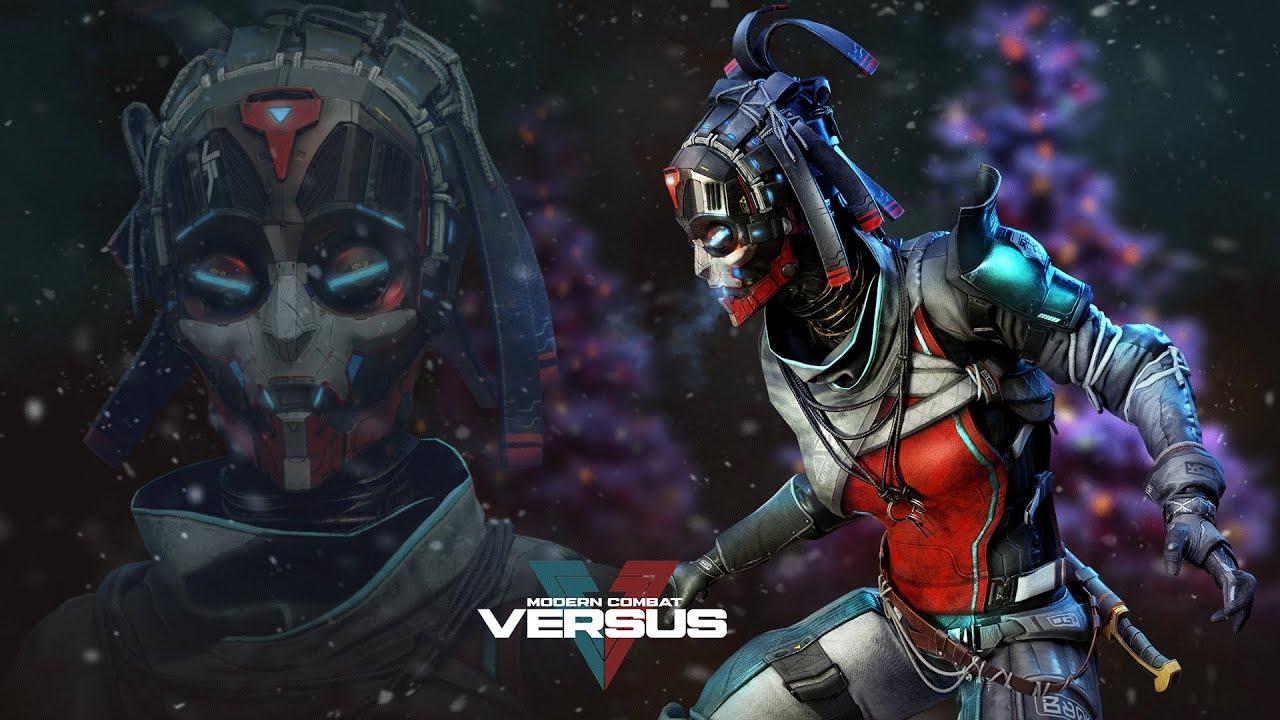 Modern Combat Versus: Neon Witch in Illuminated Battle Pass