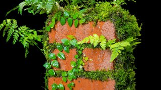 Living Moss Brick (Satisfying and Relaxing Build)