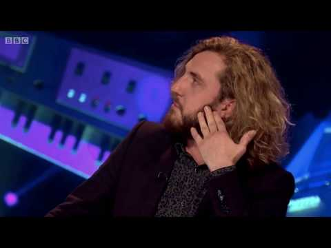 Seann Walsh impersonates a Indie band singer