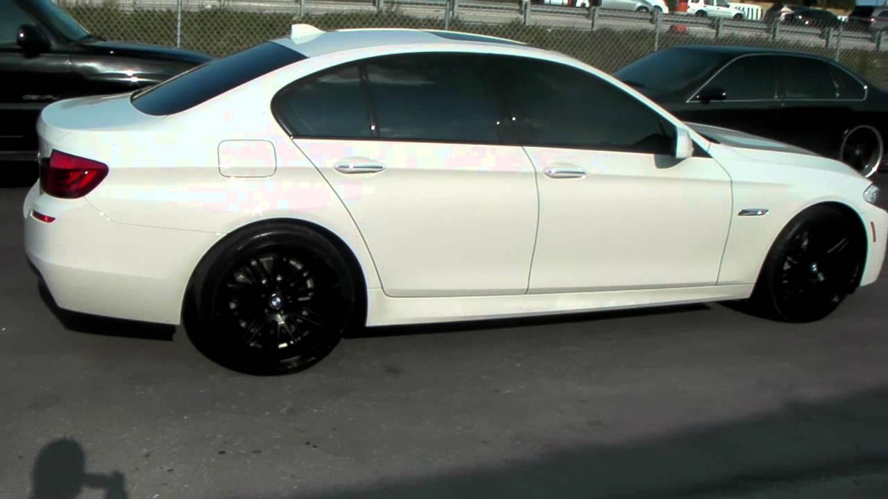 Dubsandtires Com 20 Quot Inch Xo Milan Black Wheels 2013 Bmw 5 535i 528i Series Review Miami Rims