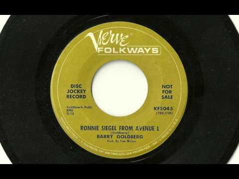 Barry Goldberg - Ronnie Siegel From Avenue L, Verve/Folkways KF5045