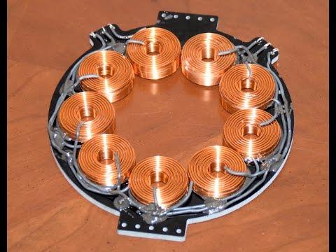 Helibug 750w 12v 24v 36v 48v Low Rpm Axial Flux Alternator