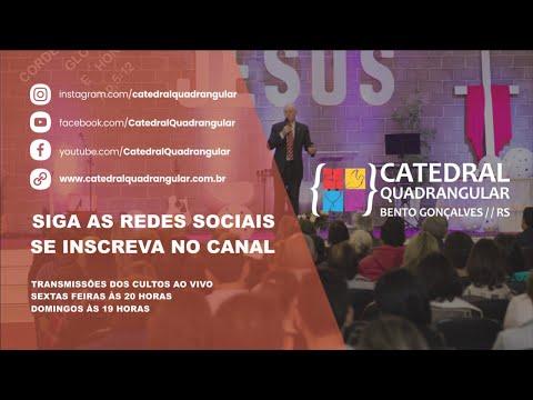 Catedral Quadrangular - Culto de  Domingo  09/08/2020-Live ás 19horas