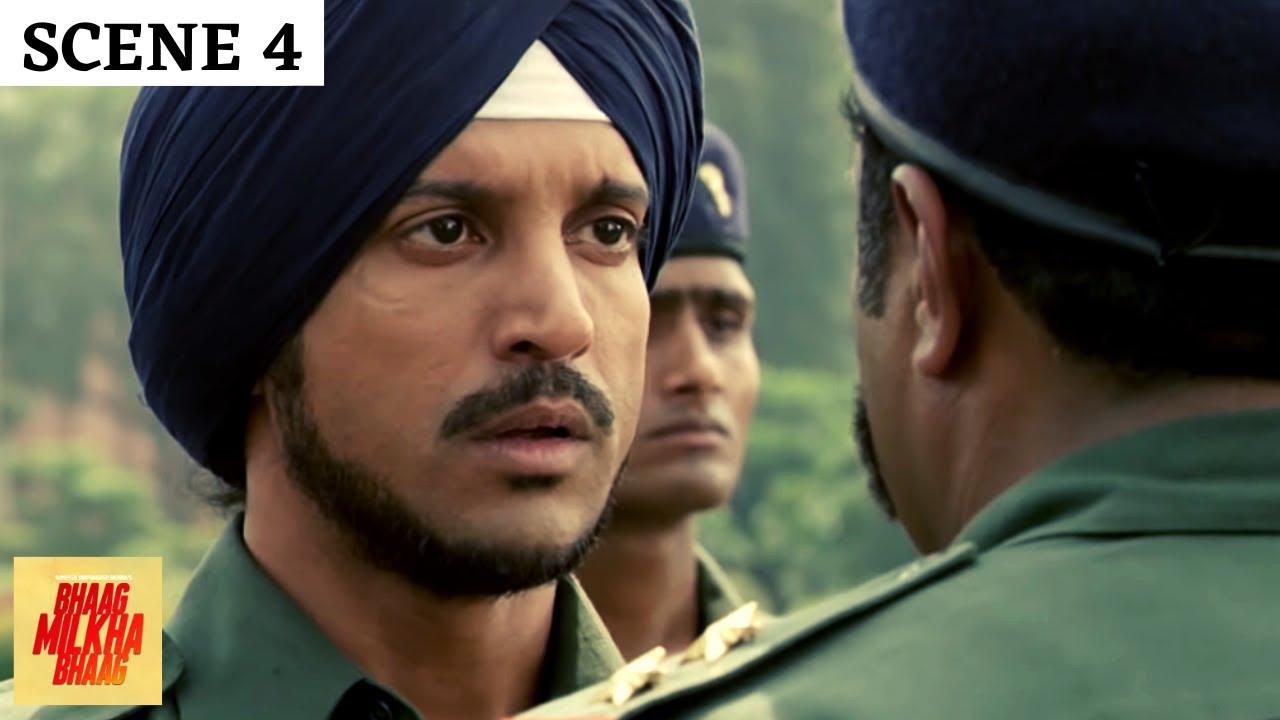 Bhaag Milkha Bhaag | Scene 4 | भाग मिल्खा भाग | Farhan Akhtar | Sonam Kapoor | Best Scenes