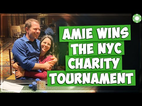 Amie WINS NYC Charity Tournament + Borgata Poker Vlog!