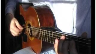 видео Бумер на гитаре с табулатурами (табы)