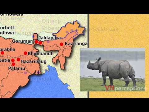 National parks, wildlife sanctuaries & Biosphere reserves of