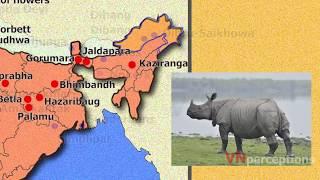 National parks, wildlife sanctuaries & Biosphere reserves of india