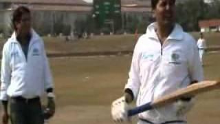 Greater Noida Authority VS Journalist Cricket match January 26  2011