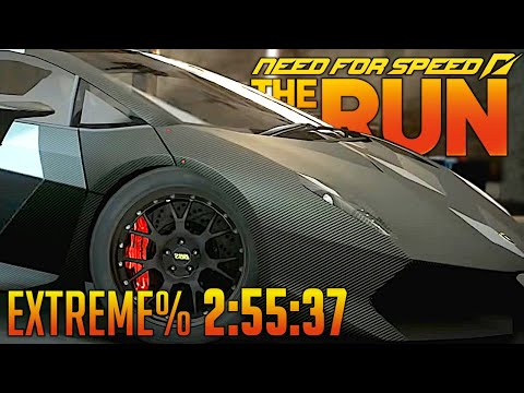 NFS The Run Extreme% 2:55:37 World Record