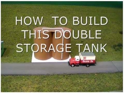 HOW TO BUILD DOUBLE STORAGE TANKS FROM SCRAP PVC PIPE