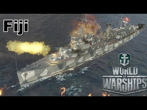 World of Warships: Fiji In The Channel