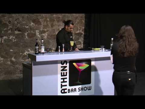 Natural cocktails Molinari from Geram Kazarian @ Athens Bar Show 2013