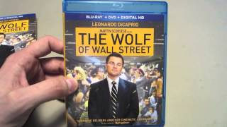 The Wolf of Wall Street Blu Ray Unboxing