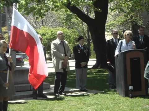 May 3rd Polish Constitution Day Celebration - Toronto 2012