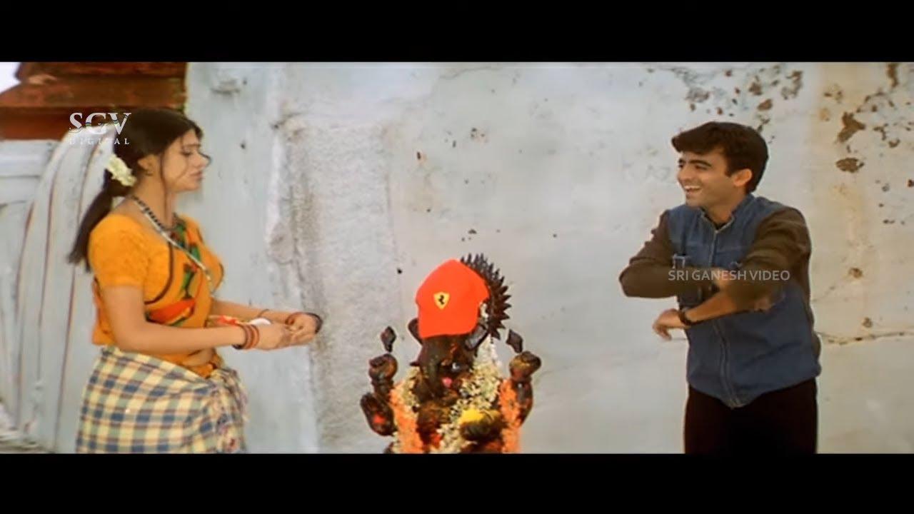 ನೀನು ಚೋಟು ಅಲ್ದೆ, ಇನ್ನೇನು ಲಂಬುನಾ ? | Jyestha | Master Anand | Vishnuvardhan | Kannada Comedy Scen