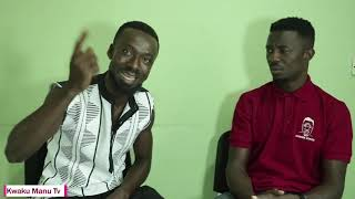 Kwaku Manu Aggressive Interview With HEAVY DUTY (MUSICIAN) 🚨🤴❤🔥
