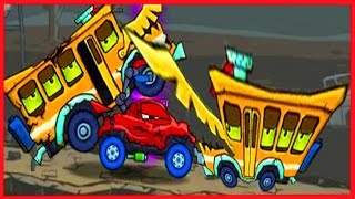 Мультик ИГРА для детей про красную машинку - МАШИНА ест МАШИНУ. car eats car от Фаника