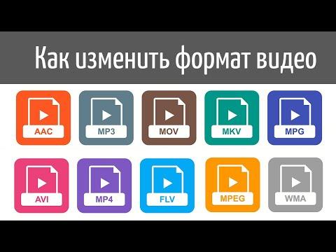 Как изменить формат видео - видеоурок