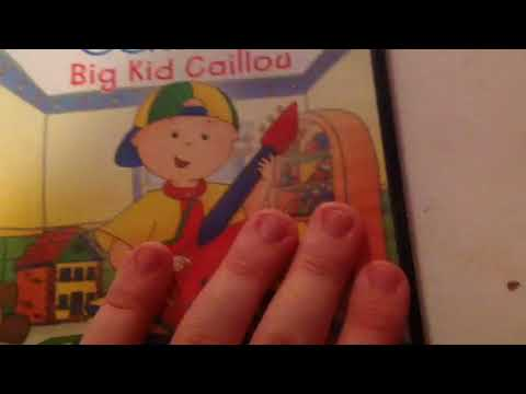 My PBS Caillou DVD Collection