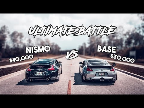 Nissan 370z Base Vs. Nismo: Worth the Upgrade? Race | Comparison | Review