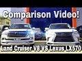 2017 Lexus LX570 vs 2017 Toyota Land Cruiser: Full Comparison! *Urdu/Hindi Exclusive*